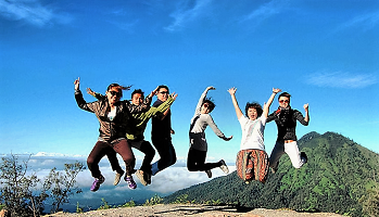 Combine bromo ijen sukamade tour 4d3n packages
